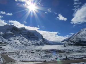アサバスカ氷河